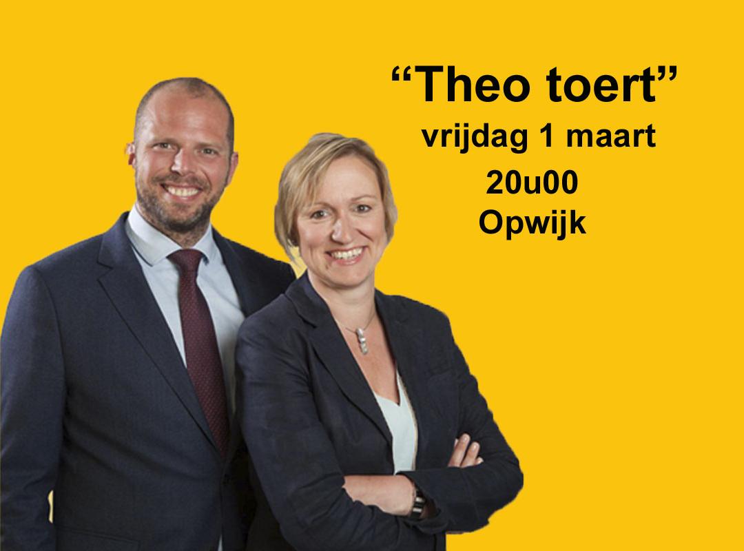 Theo toert in Opwijk